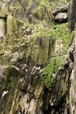 Geologische vorming in Skellig Michael Royalty-vrije Stock Afbeeldingen