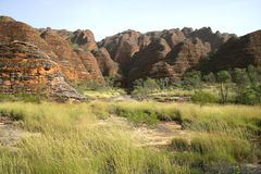 Geologisches Merkmal des Piccaninny Nebenflusses stockbilder