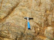 Geologisk hammare Royaltyfri Fotografi