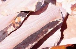 geologiska mineraler av South Dakota arkivfoto