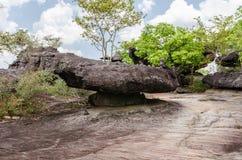 Geologiskt bildande av stenberget Arkivbilder