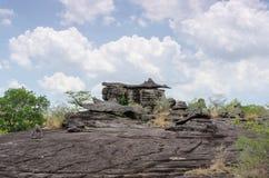 Geologiskt bildande av stenberget royaltyfria foton