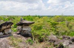 Geologiskt bildande av stenberget Fotografering för Bildbyråer