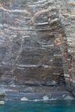 Geologiskt fel royaltyfria bilder