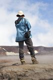 Geologist stock photography