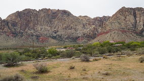 Geology at Bonnie Springs Ranch near Las Vegas, Nevada. & x28;USA& x29 Royalty Free Stock Image
