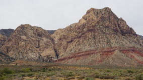 Geology at Bonnie Springs Ranch near Las Vegas, Nevada. & x28;USA& x29 Stock Photos