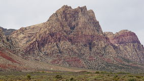 Geology at Bonnie Springs Ranch near Las Vegas, Nevada Stock Photography