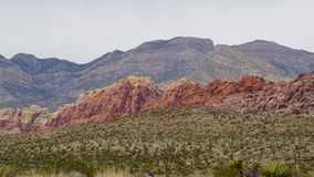 Geology at Bonnie Springs Ranch near Las Vegas, Nevada Royalty Free Stock Photography