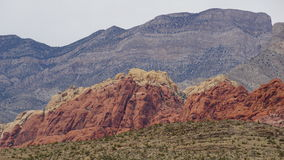 Geology at Bonnie Springs Ranch near Las Vegas, Nevada Royalty Free Stock Image
