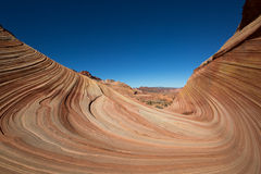 Geology at coyote butte wilderness area in arizona Stock Photography
