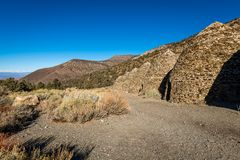 The geology of Death Valley National Park royalty free stock photo