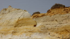 Geology Erosion Of Sandstone Rock Royalty Free Stock Photo