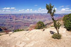 Geology of Grand Canyon Stock Image