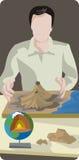 Geology illustration series Stock Photos