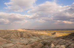 Geology Rock Formations Badlands National Park South Dakota Royalty Free Stock Photo