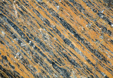 Geology in the Rockies. The stripes in the rock make for an interesting pattern for a natural background Royalty Free Stock Images