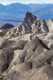 Geology at zabriskie point death valley Stock Photos