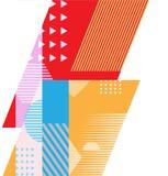 Geométrico abstracto Imágenes de archivo libres de regalías