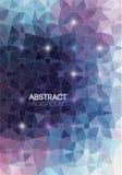 Geométrico abstracto Ilustración del vector Fotografía de archivo libre de regalías