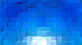 Geométrico abstrato - geometria de cubos abstratos Fotografia de Stock Royalty Free