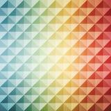 Geométrico abstrato mosaic Vetor Imagens de Stock