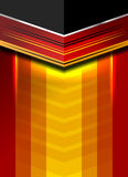 Geométrico alemán abstracto Imagen de archivo
