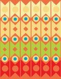 Geométrico decorativo abstrato Fotografia de Stock
