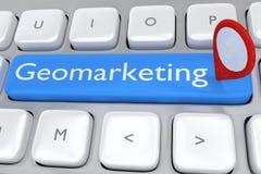 Geomarketing concept Stock Photo