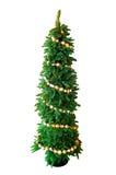 Geomatric verzierte Weihnachtsbaum Stockbild