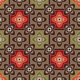 Geomentrical Elementillustration des nahtlosen geometrischen Musters oder Stockfotos