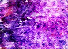 Geomeric tetragon abstract mosaic background. Awesome geomeric triangular abstract poligonal mosaic background in violet colors, eps 10 vector illustration royalty free illustration