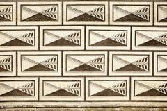Czech Palace Wall Pattern Stock Photography