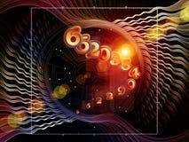 Geometría computacional Foto de archivo libre de regalías