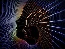Geometría conceptual del alma ilustración del vector