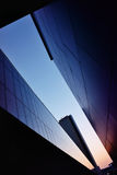 Geometría de edificios modernos Fotografía de archivo