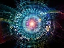 Geometría de la astrología ilustración del vector