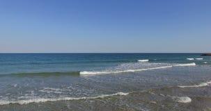 Geometría de la costa del Mar Negro, Bulgaria almacen de video
