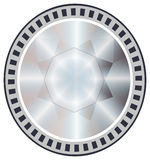Geometría del círculo del vector ilustración del vector