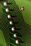 Geometría del ordenador Foto de archivo libre de regalías