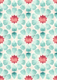 Geometría islámica inconsútil Imágenes de archivo libres de regalías