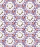 Geometría islámica inconsútil Imagen de archivo libre de regalías