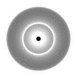Geometría sagrada - ilusión óptica Fotografía de archivo