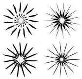 Geometría sagrada - símbolo de Sun Fotos de archivo libres de regalías