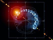 Geometría virtual Fotografía de archivo
