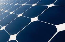Geometría del panel solar Fotografía de archivo