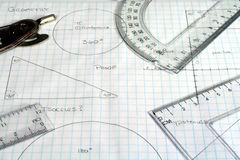 geometri Royaltyfria Bilder