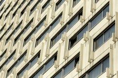 Geometri av betongen arkivbild