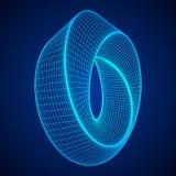 Geometri för cirkel för Mobius remsa sakral Royaltyfri Bild