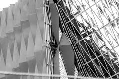 Geometri och Archtecture Arkivbilder